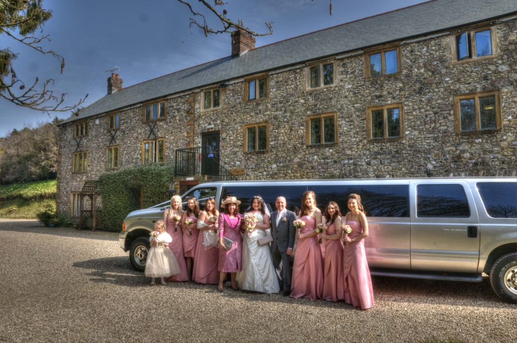kinglimo-on-a-wedding-in-plymouth